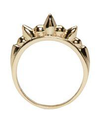 Pamela Love | Metallic Gold Spike Ring | Lyst
