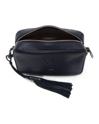 Saint Laurent - Blue Navy Medium Lou Camera Bag - Lyst
