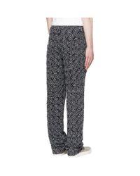 Telfar - Ssense Exclusive Black Embroidered Basic Jeans for Men - Lyst