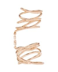 Repossi - Pink Rose Gold Twin Ring - Lyst