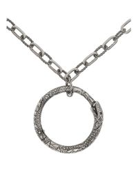 Gucci - Metallic Collier argente Snake Ring for Men - Lyst