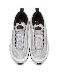 Nike - Metallic Silver Air Max 97 Og Sneakers - Lyst