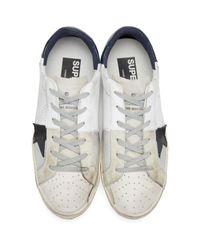 Golden Goose Deluxe Brand White Trilogy Superstar Sneakers for men