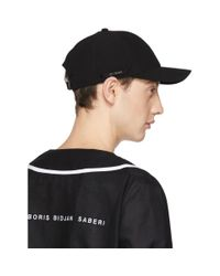 Boris Bidjan Saberi 11 - Black New Era Edition Logo Baseball Cap for Men - Lyst
