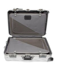 Tumi - Metallic 19 Degree Aluminum Short Trip Packing Case for Men - Lyst