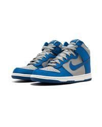 Nike - Blue Dunk High - Lyst