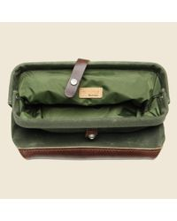 Billykirk - Green No. 257 Snap Dopp Kit - Olive/brown for Men - Lyst