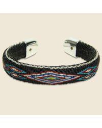 Chamula | Black Bendable Horsehair Bracelet - Brown/multi for Men | Lyst