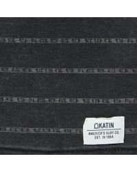 Katin - Hatch Stripe Boardshort - Black Wash for Men - Lyst
