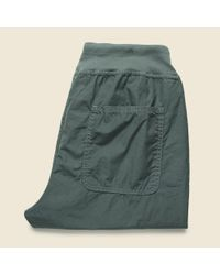 Save Khaki | Green Poplin Cozy Pant - Park for Men | Lyst