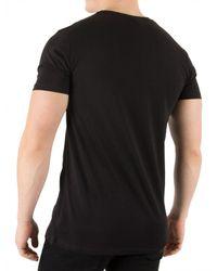 Hype - Black Sand Strokes T-shirt for Men - Lyst