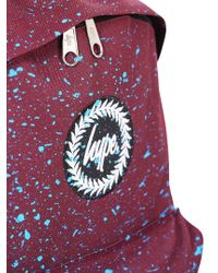 Hype - Purple Burgundy/blue Speckle Backpack for Men - Lyst
