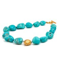 Yossi Harari | Blue Roxanne Rough Turquoise Necklace | Lyst