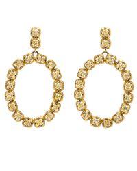 Sylva & Cie | Yellow Diamond Bomb Earrings | Lyst