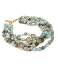 Nest | Blue Opal Multi Strand Necklace | Lyst