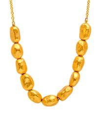 Yossi Harari - Metallic Roxanne Gold Nugget Necklace - Lyst