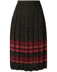 Marco De Vincenzo - Multicolor Pleated Skirt - Lyst