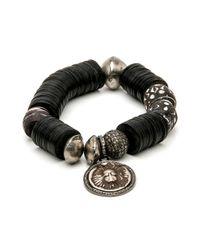 Hannah Ferguson - Multicolor Heavy Dark Bead Bracelet - Lyst