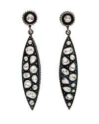 Yossi Harari - Multicolor Sara Rose Cut Diamond Marquis Drop Earrings - Lyst