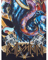 Balmain - Black Top Senza Maniche 'heavy Metal' - Lyst