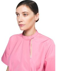 Ports 1961 - Pink Short Sleeves Dress - Lyst