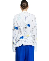 Ports 1961 - Blue Long Sleeves Shirt - Lyst