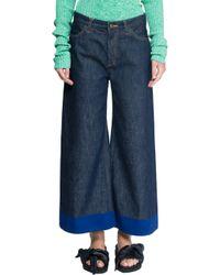 Ports 1961 - Blue Denim Trousers - Lyst