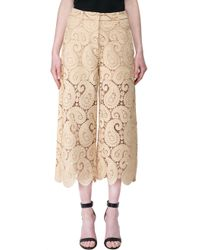 Self-Portrait - Multicolor Lace Trousers - Lyst