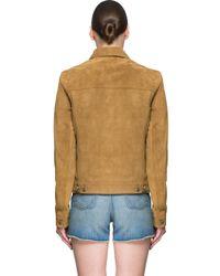 BLK DNM - Brown Suede Jacket - Lyst