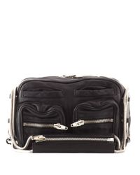 Alexander Wang   Black Brenda Chain Leather Shoulder Bag   Lyst
