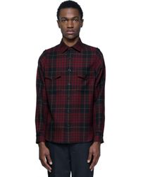 Alexander McQueen - Multicolor Tartan Shirt for Men - Lyst