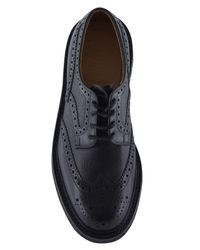 Church's - Black Peachly Chunky Sole Brogue Shoes for Men - Lyst