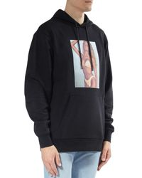 Alexander Wang - Black Bikini Babe Cotton Hoodie for Men - Lyst