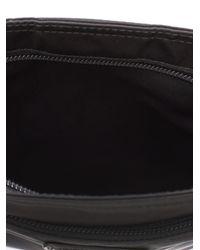 Prada - Black Flat Nylon Messenger Bag - Lyst