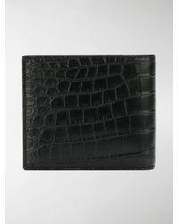 Saint Laurent - Black Classic Paris East/west Leather Wallet for Men - Lyst