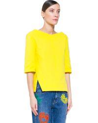 Stella McCartney - Yellow Top - Lyst