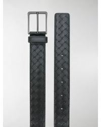Bottega Veneta - Black Cintura In Intrecciato for Men - Lyst