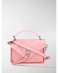 Rebecca Minkoff - Pink Mini Darren Cross Body Bag - Lyst