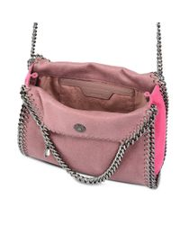Stella McCartney - Multicolor Rose Falabella Shaggy Deer Mini Tote - Lyst