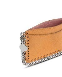 Stella McCartney - Brown Orange Falabella Card Holder - Lyst