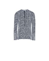 Stella McCartney | Blue Printed Rash Guard | Lyst