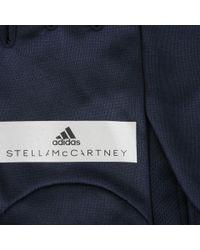 Adidas By Stella McCartney | Blue Black Running Gloves | Lyst