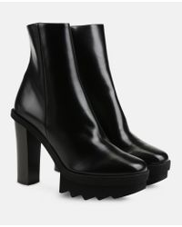 Stella McCartney - Black Ankle Boots - Lyst