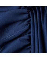 Stella McCartney - Blue Polly Sapphire Mini Dress - Lyst