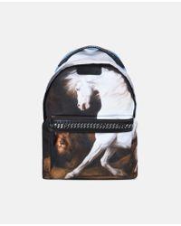 Stella McCartney | Black Stubbs Falabella Go Backpack | Lyst