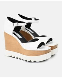 Stella McCartney - White Wedges - Lyst