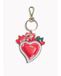 & Other Stories - Red Leather Keyring - Lyst