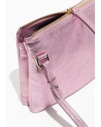 & Other Stories - Pink Small D-ring Crossbody Bag - Lyst