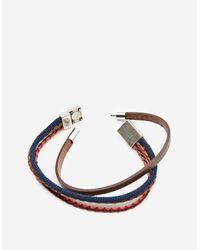Stradivarius - Blue Pack Of 2 Navy Bracelets for Men - Lyst