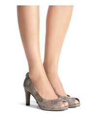 Stuart Weitzman | Black The Logoplainfield Pump | Lyst
